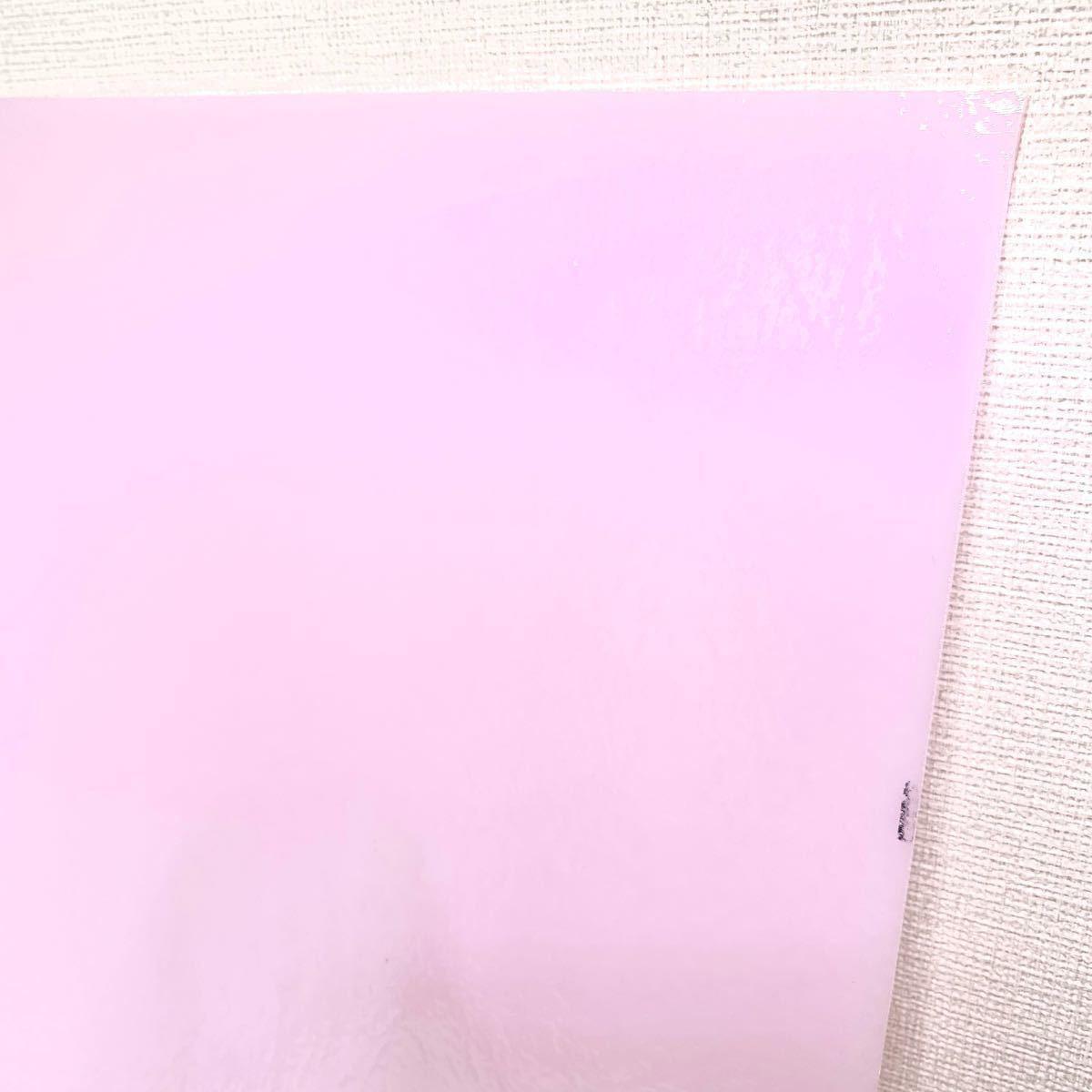 ステンドグラス 材料 BUフュージング 421 ピンク 不透明