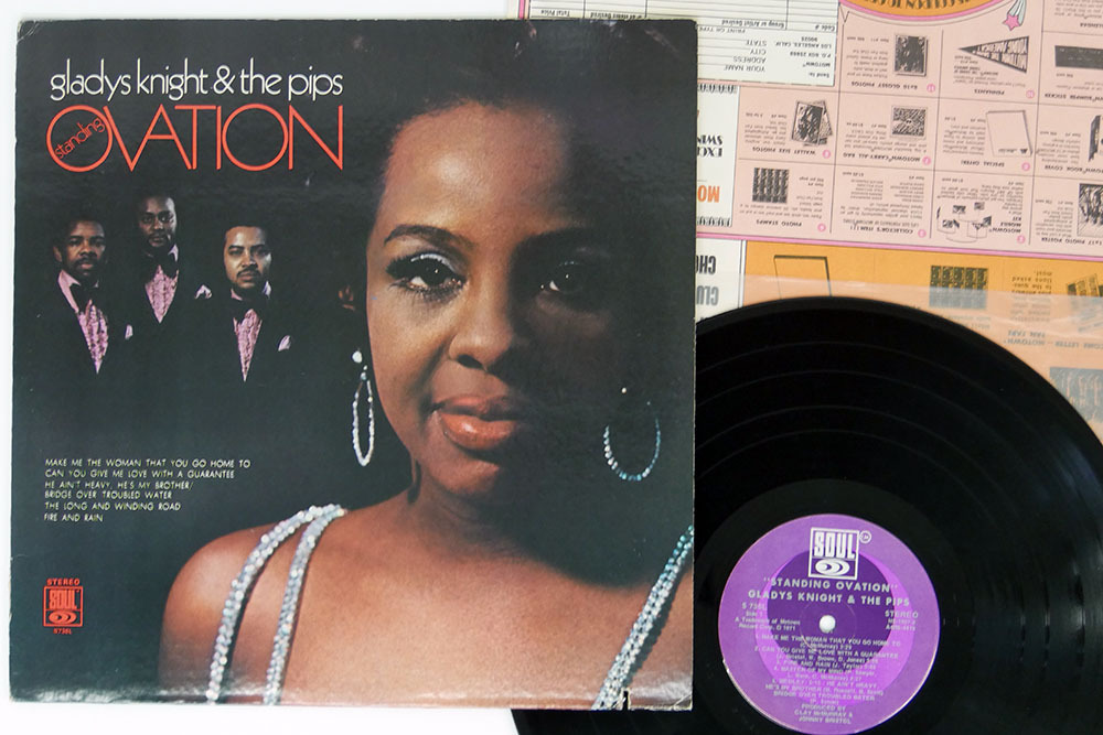 米 GLADYS KNIGHT & THE PIPS/STANDING OVATION/SOUL S 736L