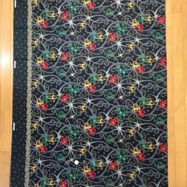 インドネシア バティック 生地 布  巻きスカート 伝統柄