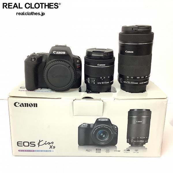 Canon/キャノン EOS Kiss X9 デジタル一眼レフ カメラ ダブルズームキット /080