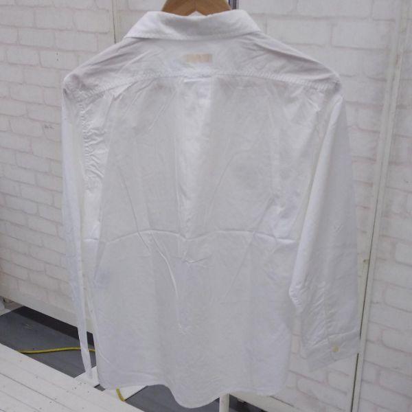 【ky129】新品 アースミュージック&エコロジー 白シャツ ブラウス  _画像2