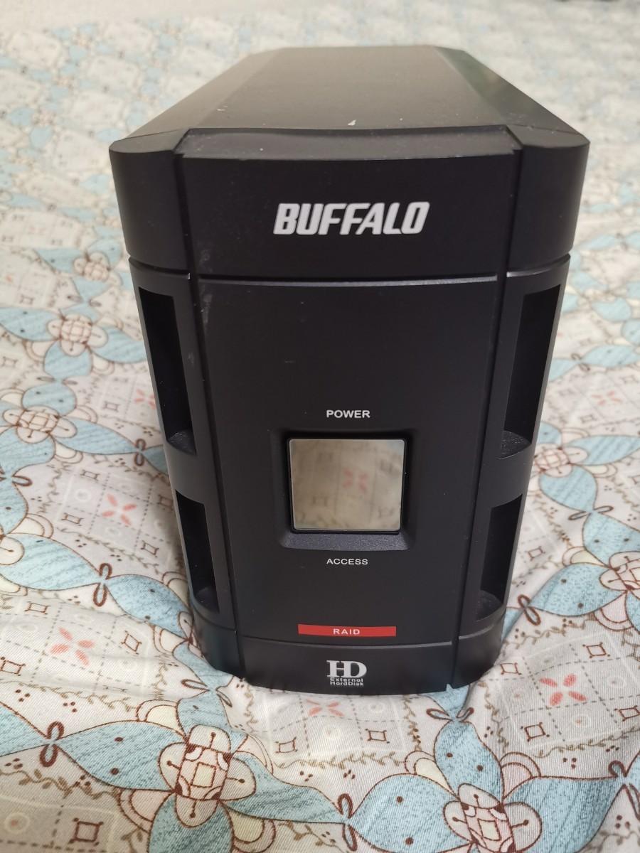 Buffalo 外付けハードディスク 500GB RAID