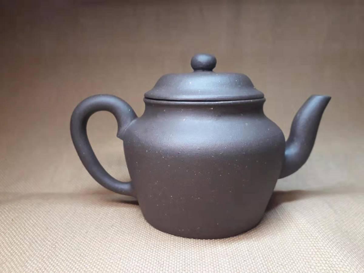 宜興窯 紫砂茶壺 在銘 煎茶道具 澹然齋_画像1