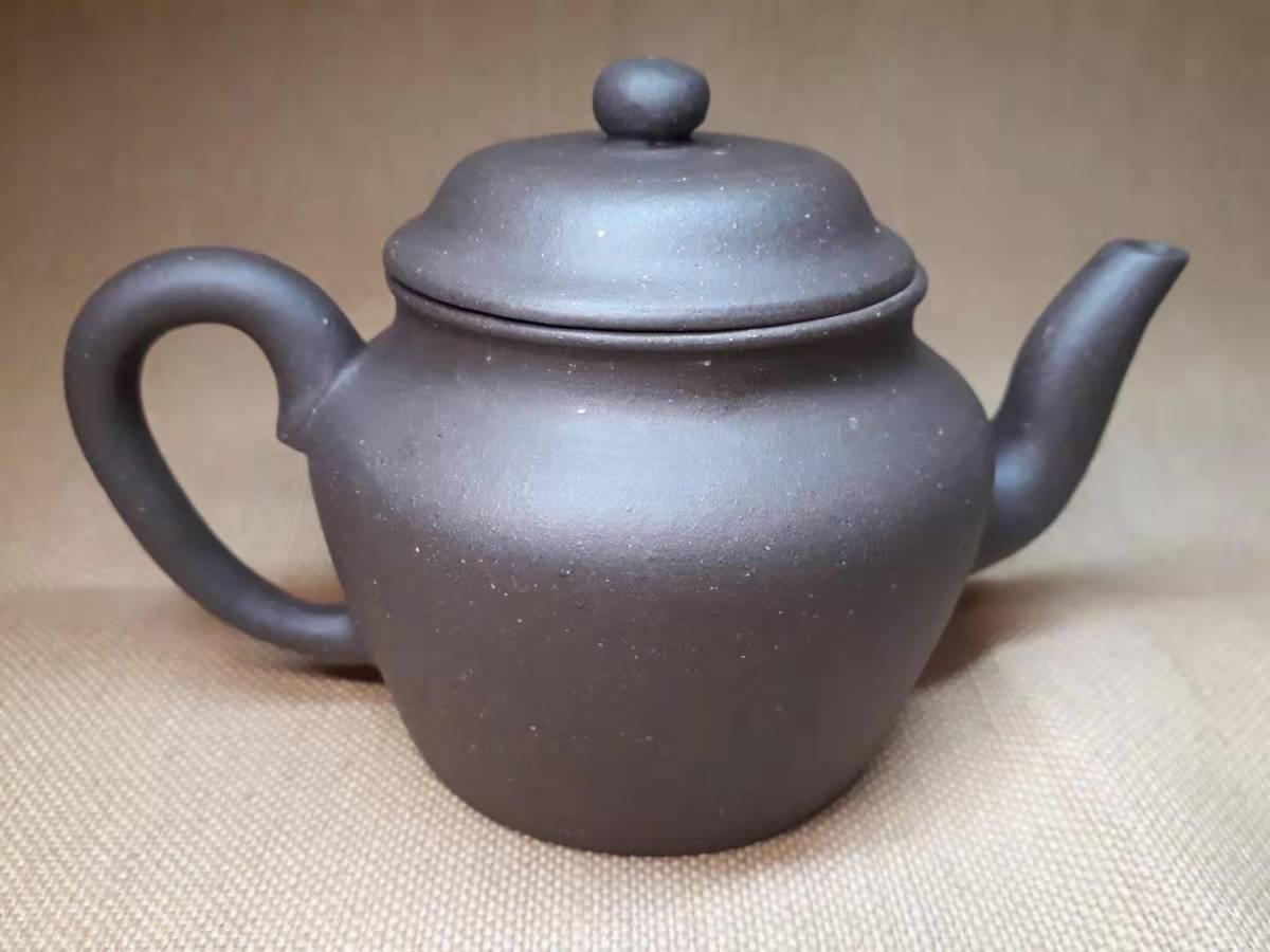 宜興窯 紫砂茶壺 在銘 煎茶道具 澹然齋_画像3