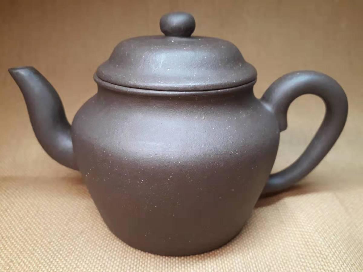 宜興窯 紫砂茶壺 在銘 煎茶道具 澹然齋_画像4