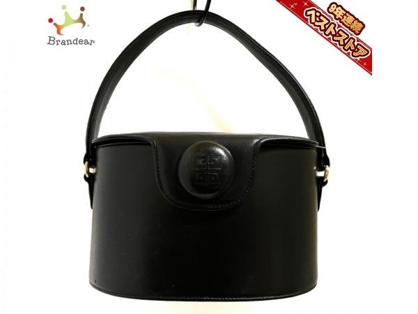ジバンシー GIVENCHY ハンドバッグ - レザー 黒 美品 バッグ