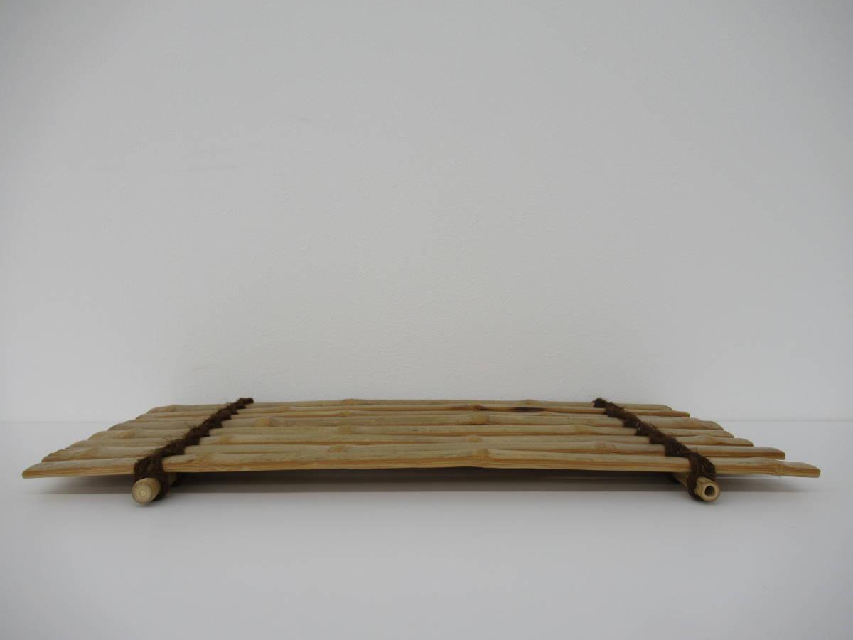 煎茶道具 斑竹 竹の敷物_画像4