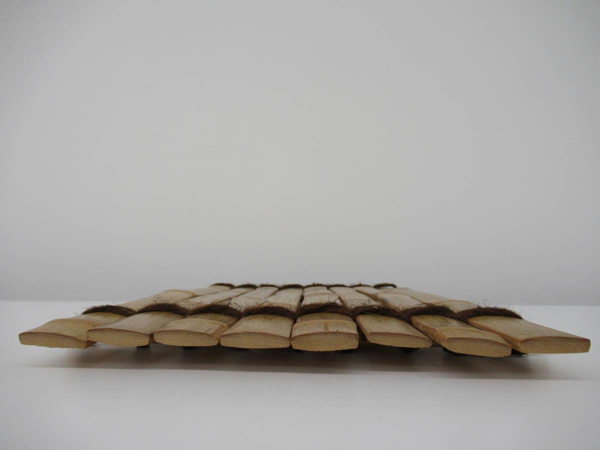 煎茶道具 斑竹 竹の敷物_画像10