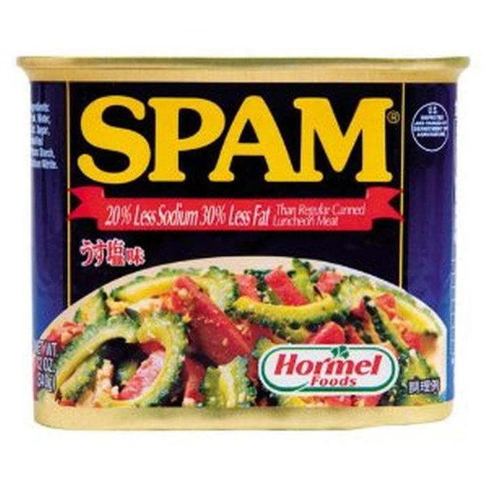 【即決】スパム ポーク うす塩 24缶_画像1