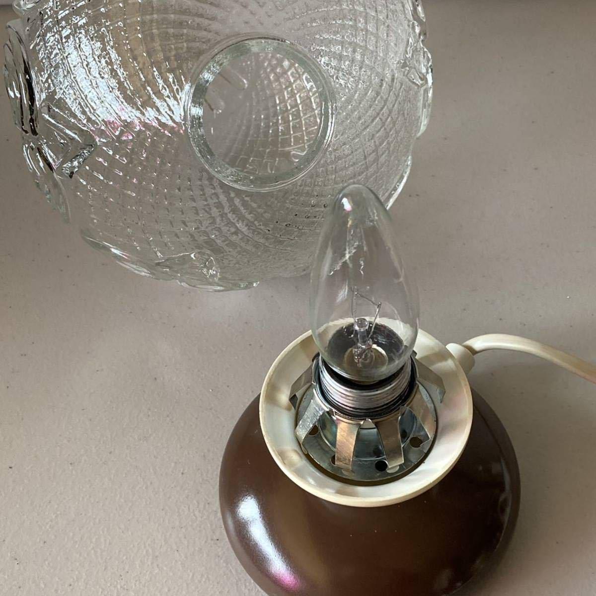 ドイツ70's ヴィンテージ デスクライト テーブル ランプ インテリア照明 レトロ スペースエイジ 卓上ランプ _画像10