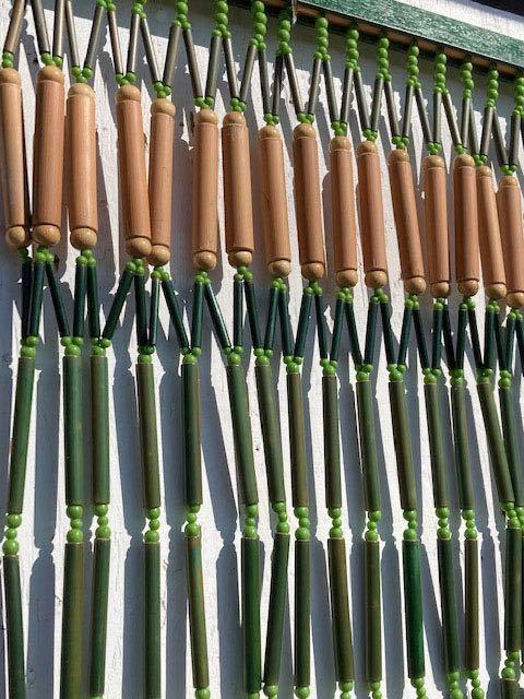 デッドストック 昭和レトロ のれん 暖簾 インテリア ヴィンテージ ディスプレイ 店舗什器 古民家_画像10