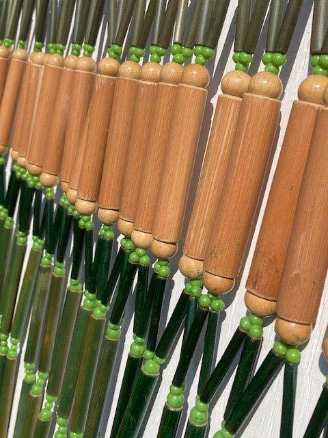 デッドストック 昭和レトロ のれん 暖簾 インテリア ヴィンテージ ディスプレイ 店舗什器 古民家_画像2