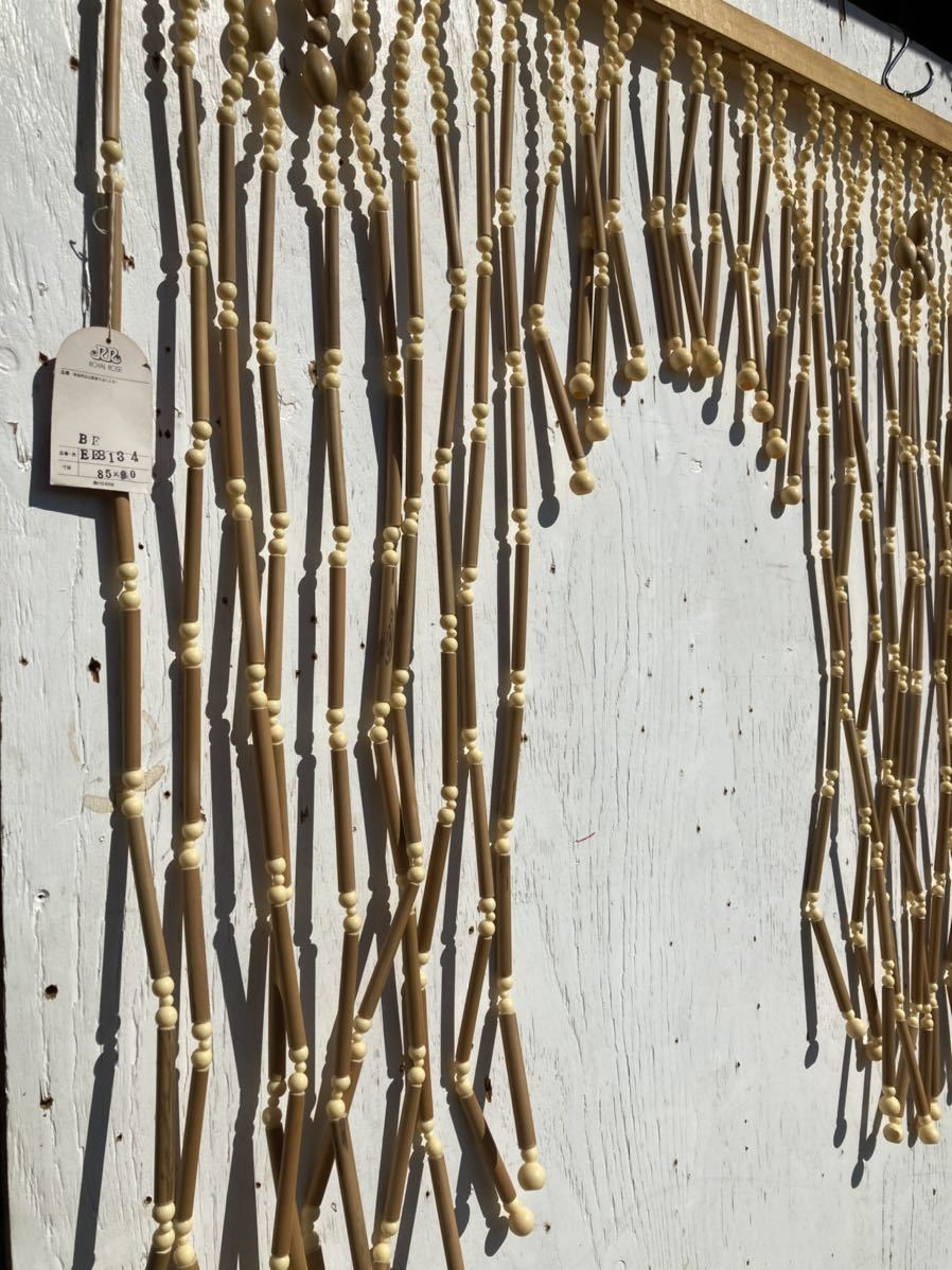 デッドストック 昭和レトロ 暖簾 のれん ヴィンテージ インテリア ディスプレイ 店舗什器 70年代 80年代 2_画像6