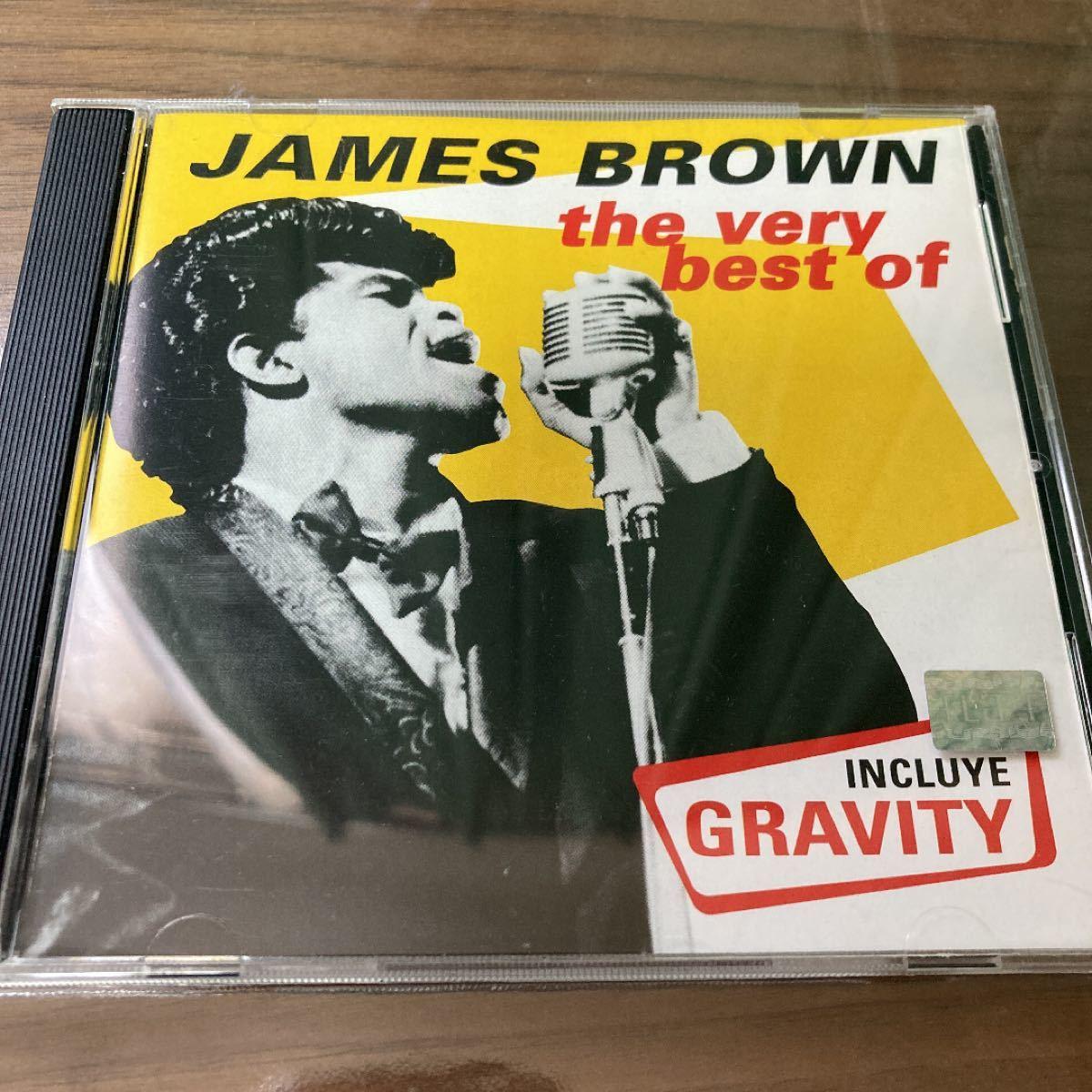 ジェイムスブラウン james brown the very best of CD ベストアルバム ジェームス ファンク ソウル