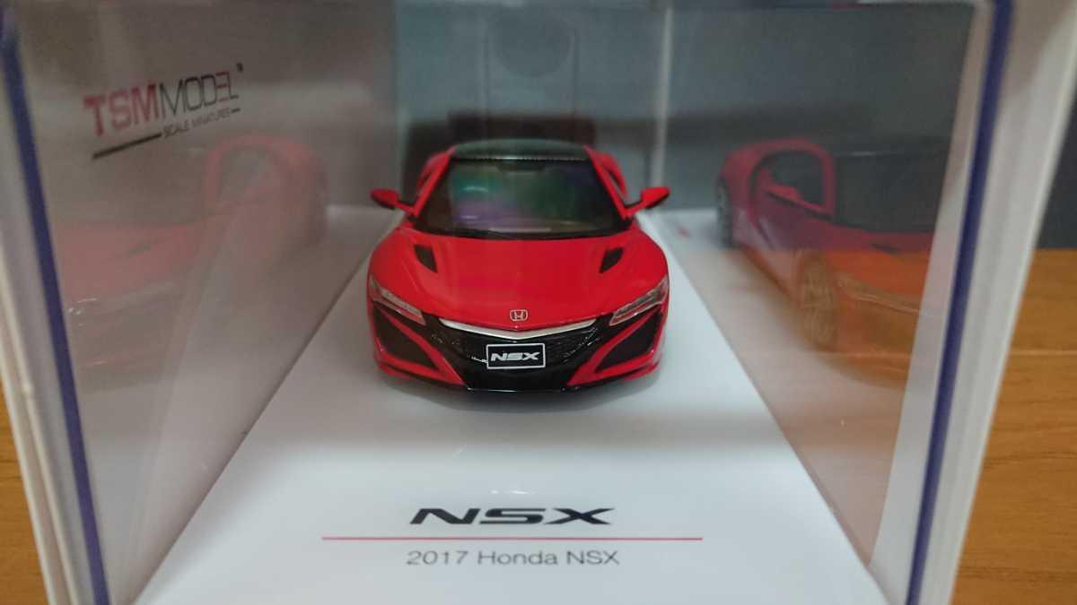 TSMモデル TSM164389 ホンダ NSX 2017 レッド 京商 1/43スケール_画像2