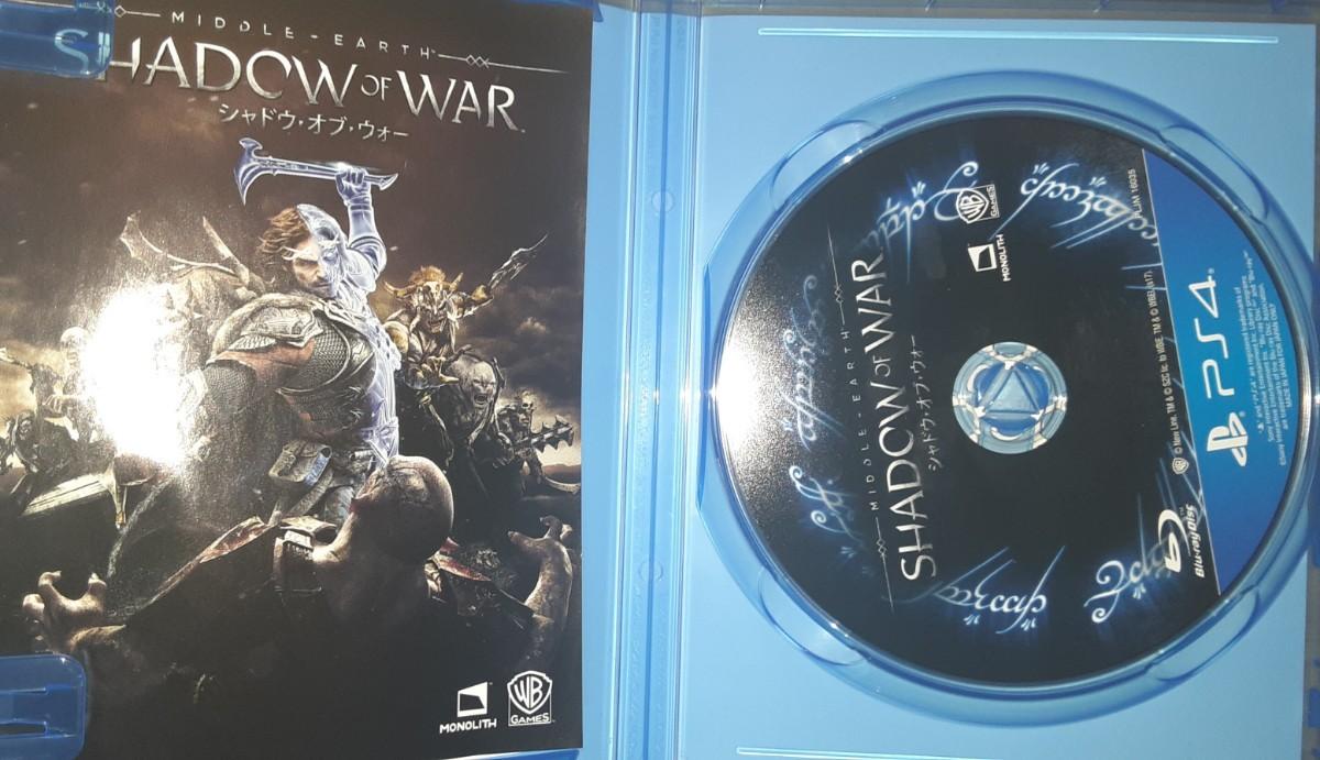 シャドウオブウォー SHADOW OF WAR  PS4