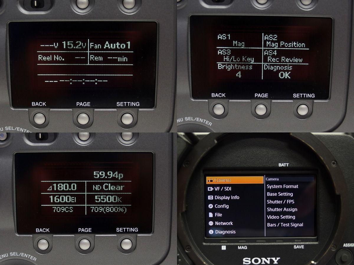 SONY F65RS 8Kイメージセンサー デジタルシネマカメラ F65RAW SR-R4をお持ちの方に 4K SRMASTER *306920_画像8