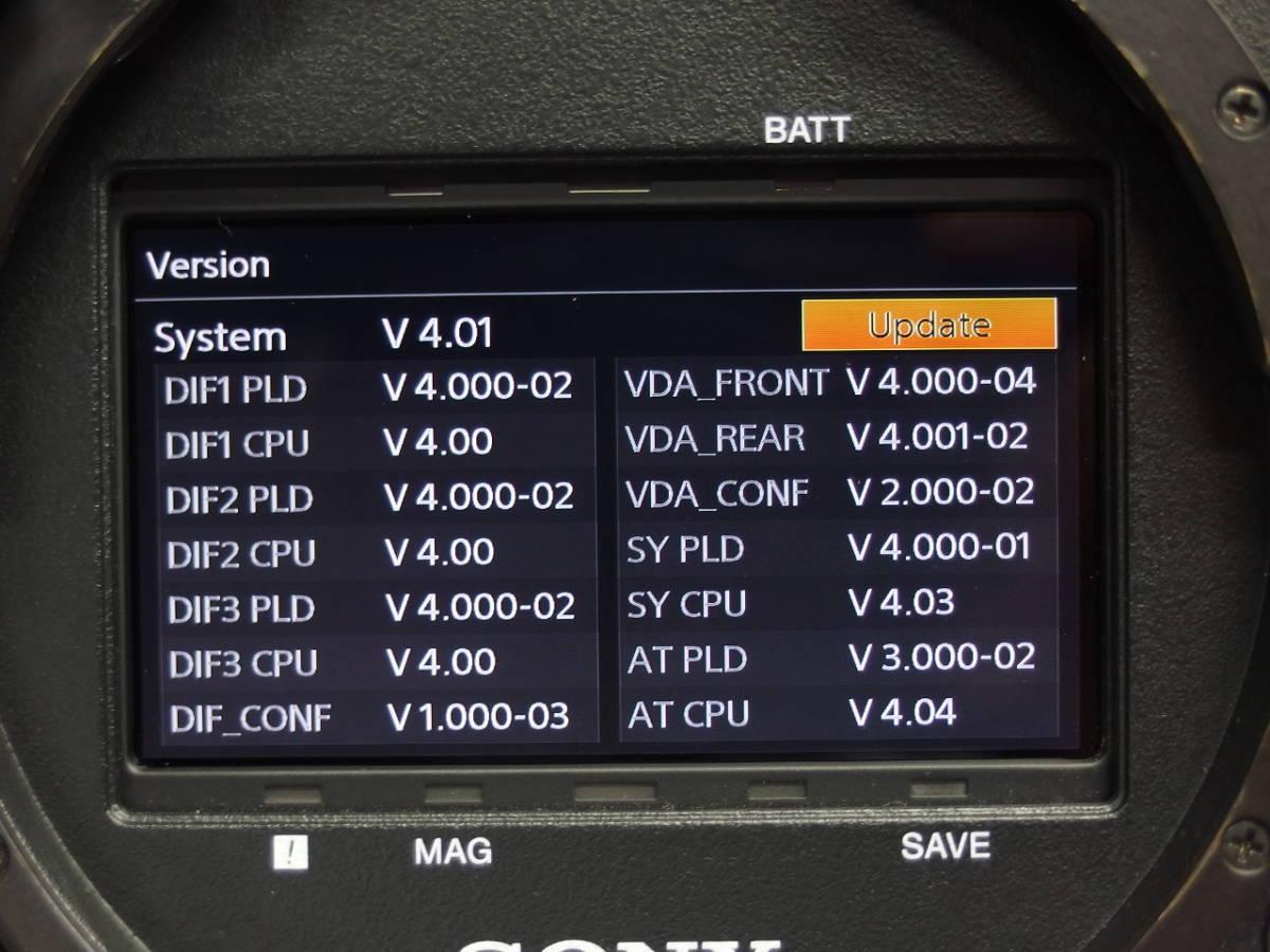 SONY F65RS 8Kイメージセンサー デジタルシネマカメラ F65RAW SR-R4をお持ちの方に 4K SRMASTER *306920_画像9