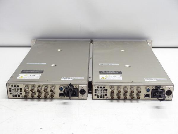 MITSUBISHI 素材伝送用MPEG2 エンコーダー MH-2700E 2台セット HD-SDI入力 ASI出力 中継機材*311067_画像6