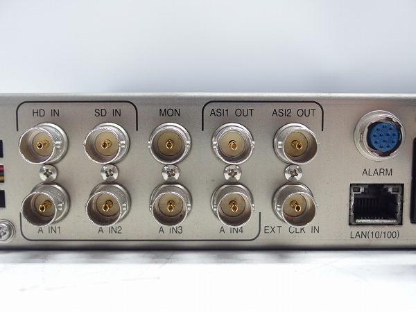 MITSUBISHI 素材伝送用MPEG2 エンコーダー MH-2700E 2台セット HD-SDI入力 ASI出力 中継機材*311067_画像7