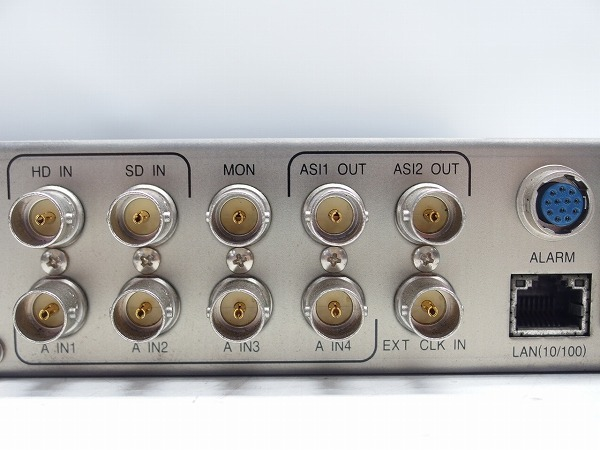 MITSUBISHI 素材伝送用MPEG2 エンコーダー MH-2700E 2台セット HD-SDI入力 ASI出力 中継機材*311067_画像8