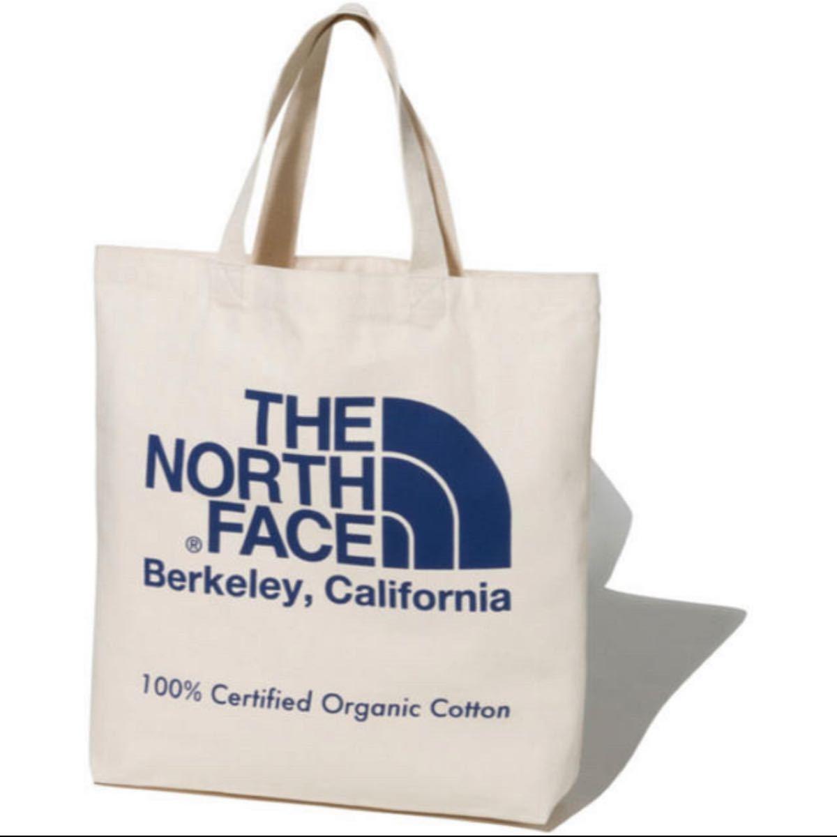 THE NORTH FACE オーガニックコットン ノースフェイストートバッグ ザ・ノース・フェイス トートバッグ