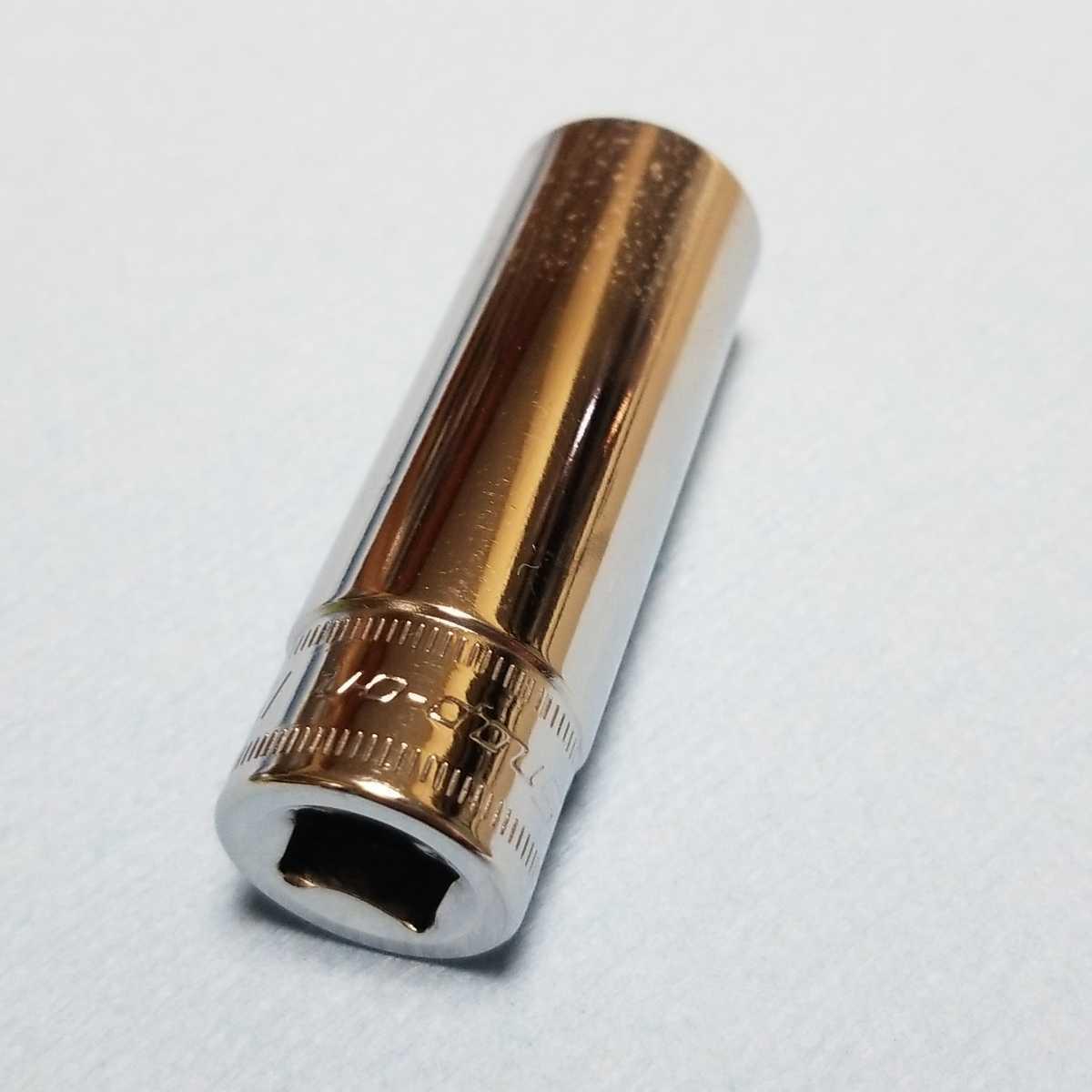 15mm 3/8 ディープ スナップオン SFSM15 (6角) 中古品 保管品 SNAPON SNAP-ON ディープソケット ソケット 送料無料 Snap-on _画像4