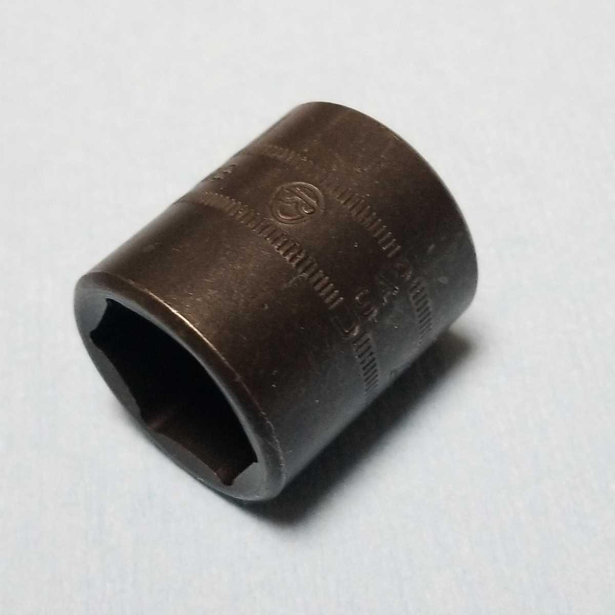 未使用 19mm 3/8 インパクト ソケット (6角) スナップオン IMFM19 新品 保管品 SNAPON SNAP-ON インパクトソケット シャロー Snap-on_画像5