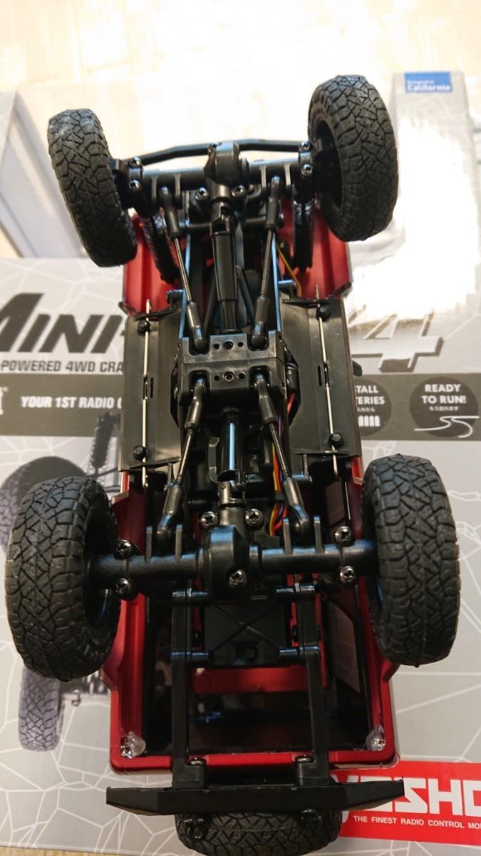 京商 ミニッツ4×4  トヨタ4ランナー  メタリックレッド