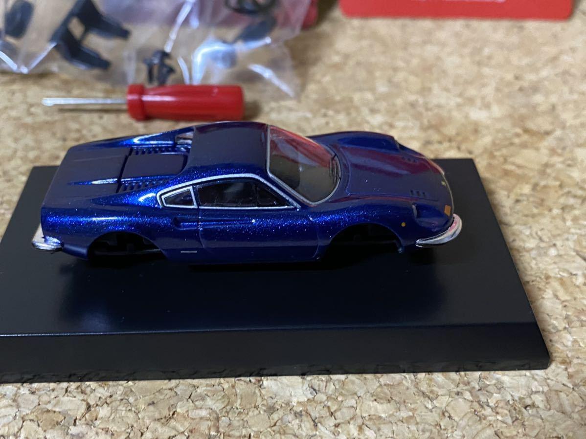 kyosho 京商 Ferrari Minicar Collection ⅦミニカーコレクションⅦ Dino 246 GT フェラーリ ディーノ246 GT 1/64 BLUE_画像6