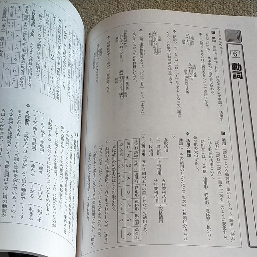 早稲田アカデミー教材 中学国語 文法&言語2冊セット 未使用 中学国語