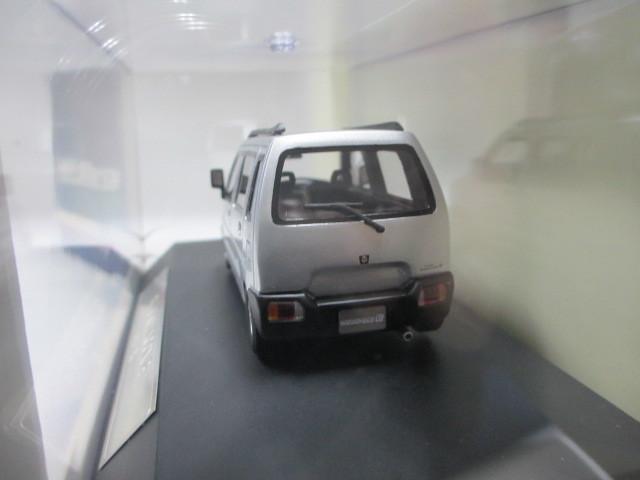 新品 1/43 ハイストーリー スズキ ワゴンR 1993 RX シルバー 絶版_画像3