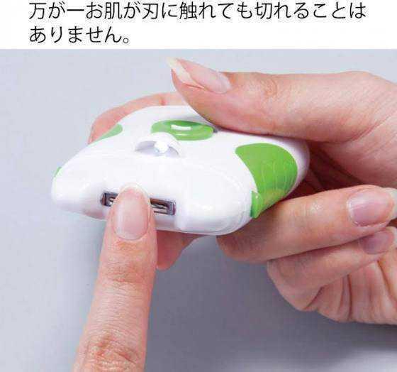 超便利!電動爪切り ネイルケア やすり_画像5