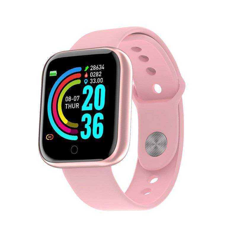 スマートウォッチ スマートブレスレット 心拍計 歩数計 血圧計 防水 活動量計 IP67 iPhone Android ピンク_画像9