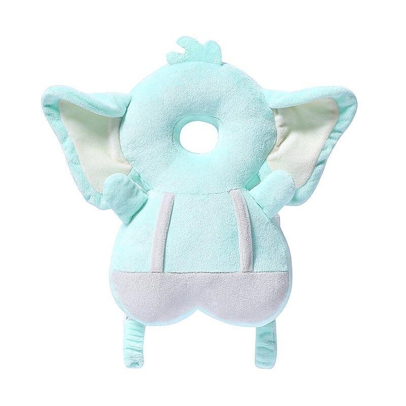 幼児睡眠枕 頭部保護パッド 赤ちゃんの頭部 形状 ドロップ抵抗クッション ベビー安全枕 ガールボーイヘッドレスト_画像3