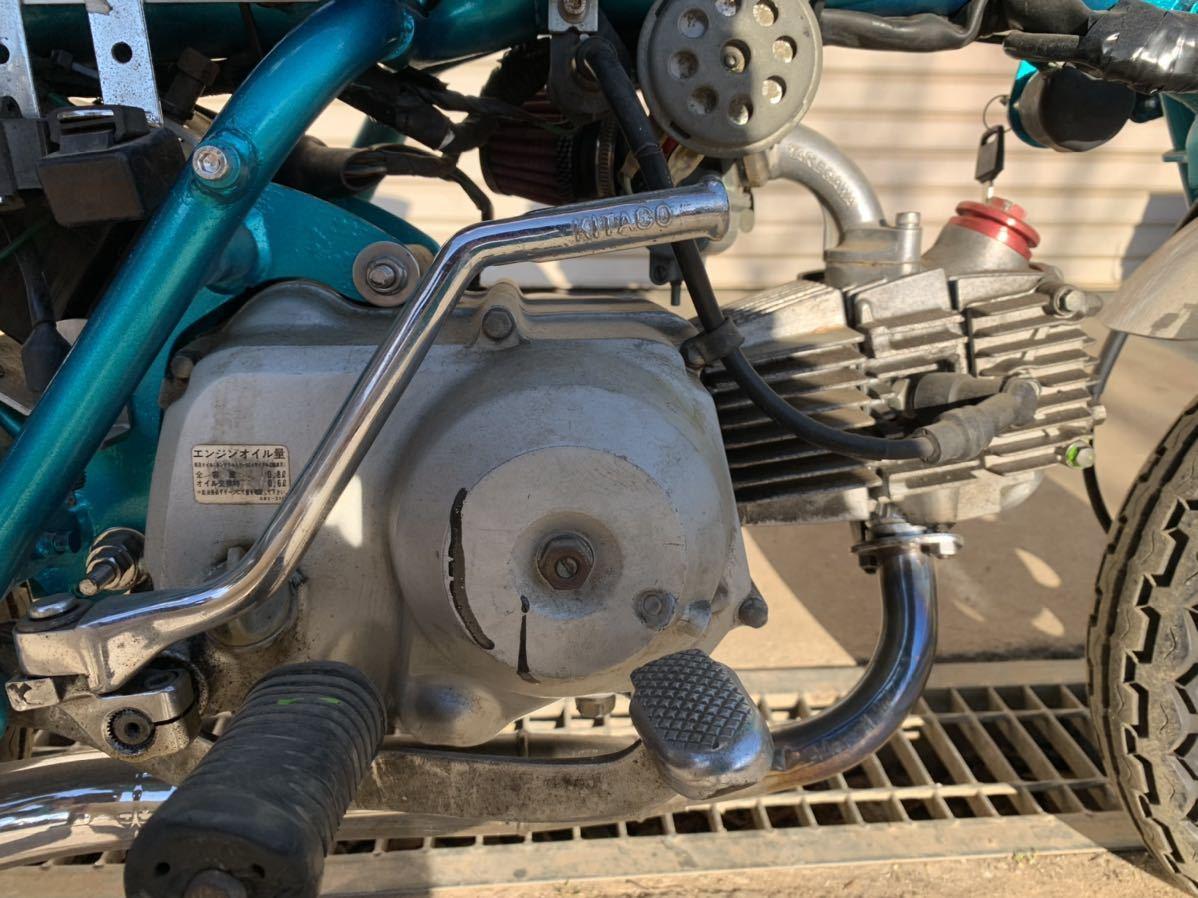 「1970年 Z50Z モンキー 88cc 12V ab26エンジン 茨城県常陸太田市 Z50A Z50M」の画像2
