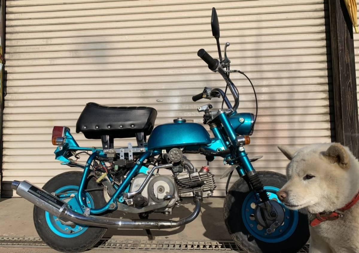 「1970年 Z50Z モンキー 88cc 12V ab26エンジン 茨城県常陸太田市 Z50A Z50M」の画像1