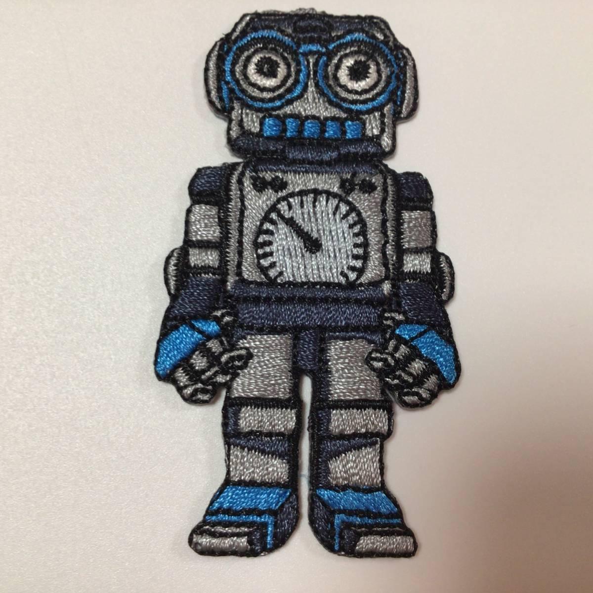 アイロンワッペン 刺繍ワッペン ロボット 3枚セット ● 恐竜 サメ 男の子