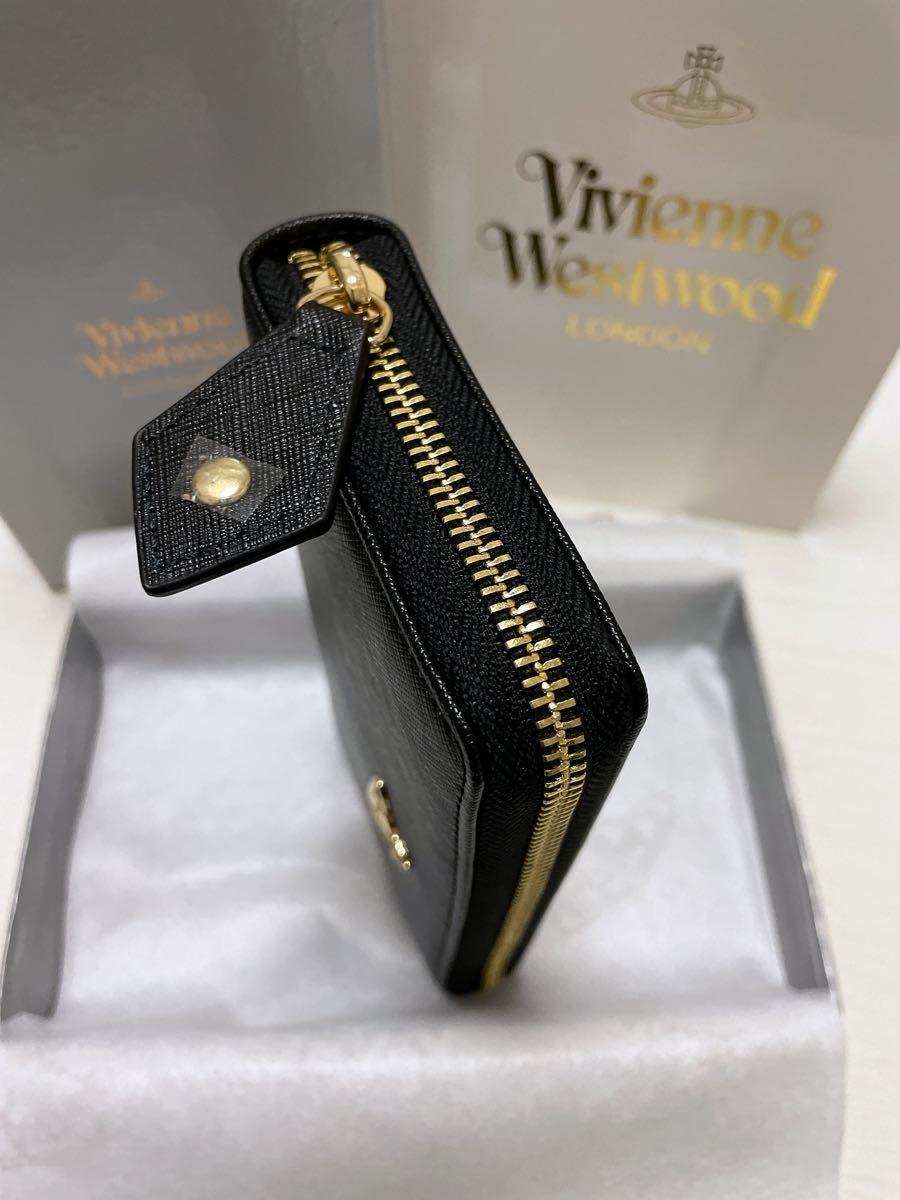 ヴィヴィアンウエストウッド 長財布 新品 未使用品 Vivienne Westwood 財布 ブラック 黒 ウォレット