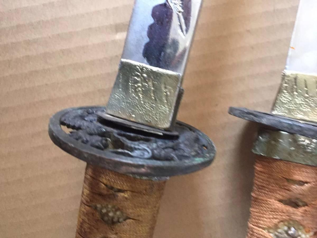 日本刀 工芸品 ジャンク品_画像4