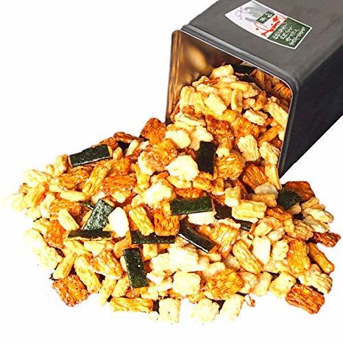 一斗缶 お得!おかき・おせんべいの詰め合わせ 内容量なんと2.5kg! ギフト プレゼントにも_画像1