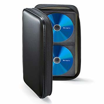 ブラック 96枚収納 サンワサプライブルーレイディスク対応セミハードケース(96枚収納・ブラック) FCD-WLBD96BK_画像3