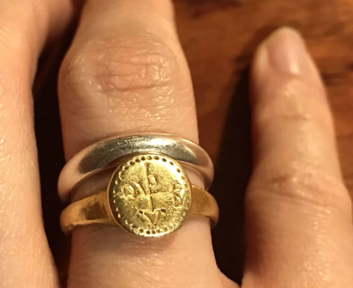 アンティークリング ビザンチン/ヴィザンチン 5-6世紀 ゴールド/金製 古代ジュエリー