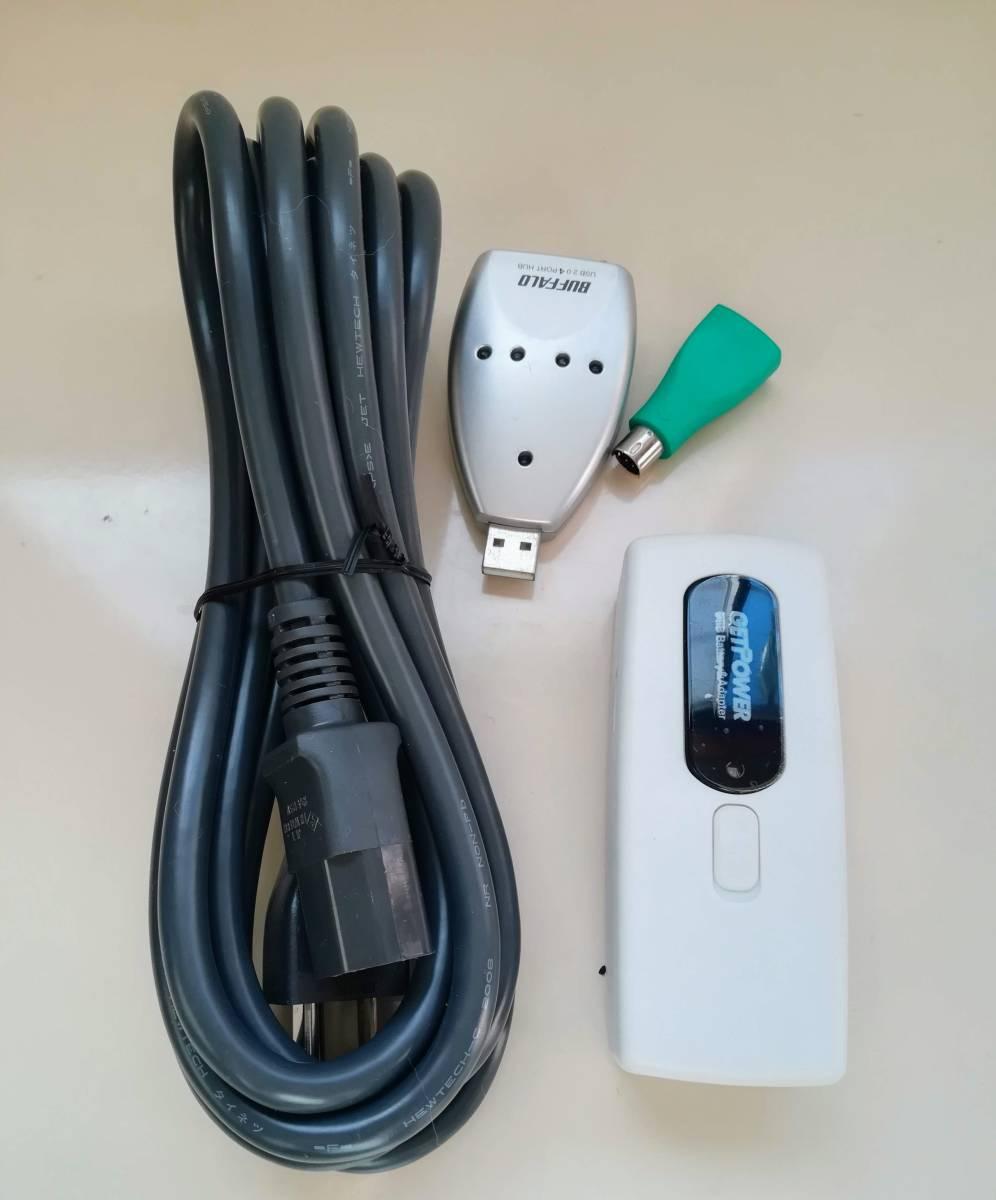 PCケーブル ACアダプター メガネ型ケーブル AVケーブル VGAケーブル ほか