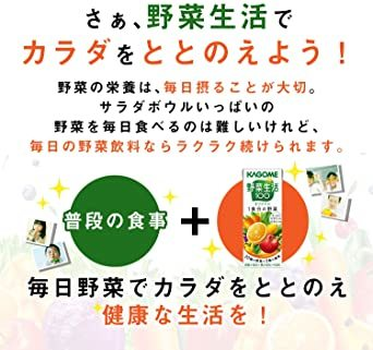 200ml×24本 カゴメ 野菜生活100 オリジナル 200ml×24本_画像10