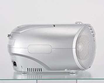■●▲シルバー オーム電機 Audio Comm CDラジオカセットレコーダーシルバー 550S RCD-550Z-S_画像2