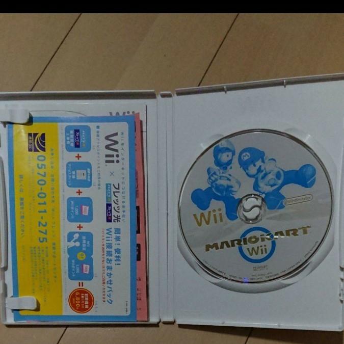 Wiiマリオカート ソフト+ハンドル②個