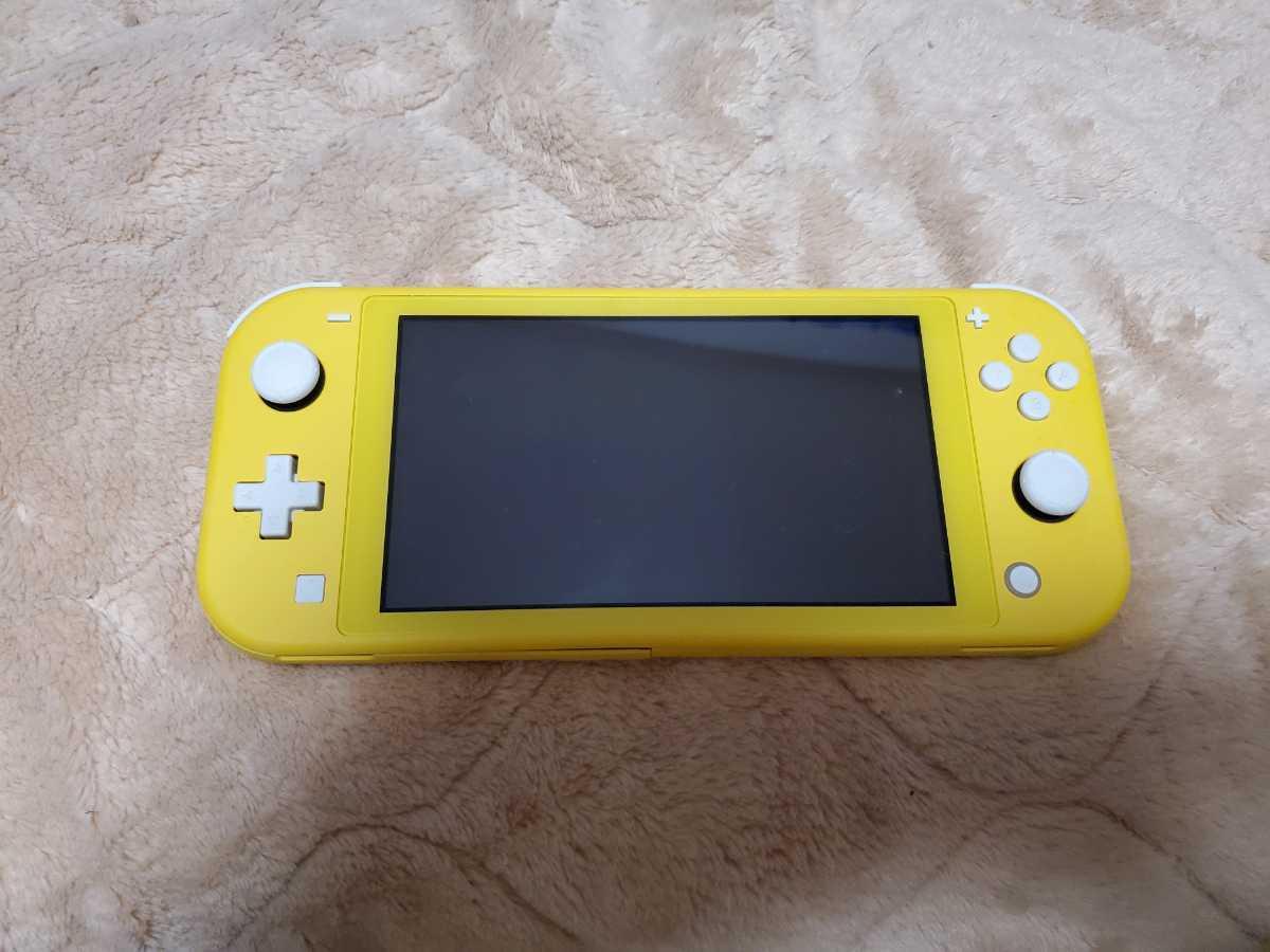 Nintendo Switchライト 液晶割れ・本体割れ・歪み有り ジャンク品
