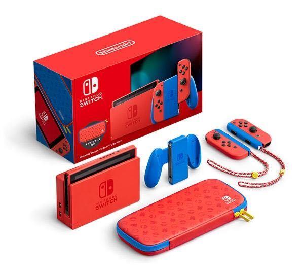 Nintendo Switch ニンテンドースイッチ本体 Nintendo 任天堂 マリオレッド 新品未開封①_画像2