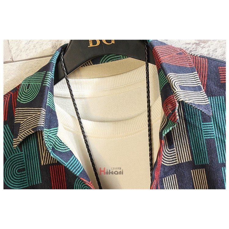 カジュアルシャツ メンズ 長袖シャツ シャツ トップス カジュアルシャツ メンズ 長袖シャツ 柄シャツ トップス コーデュロイ シャツ シャ